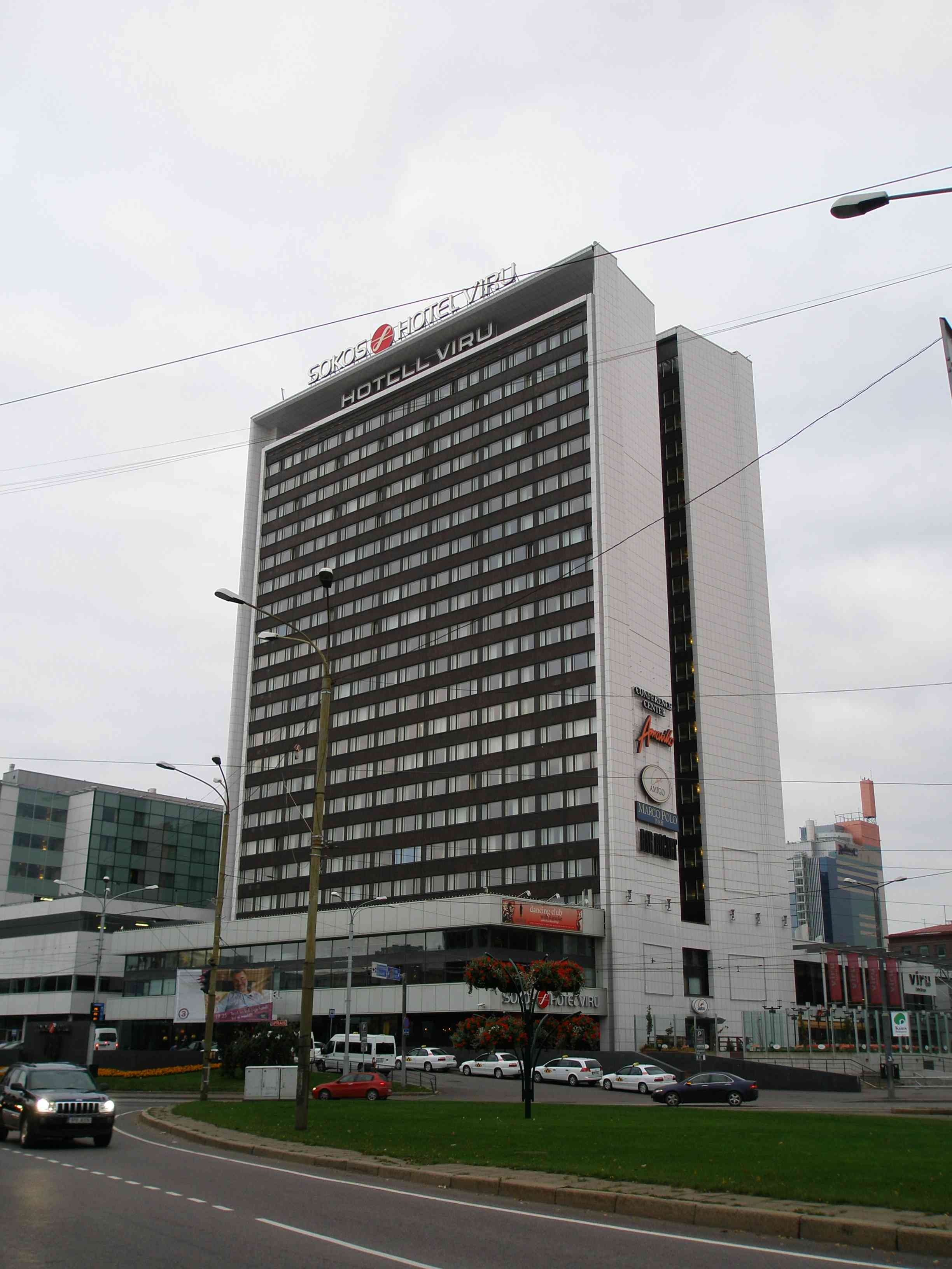Tallinna Hotellit Kartalla